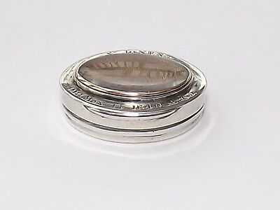 RARE ANTIQUE SOLID SILVER VINAIGRETTE c1840