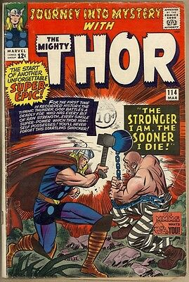 Journey Into Mystery #114 - G+ - 1st Absorbing Man