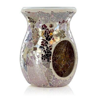 Ashleigh & Burwood Classic Mosaic Shimmering Rose Fragrance Oil Burner Home Gift