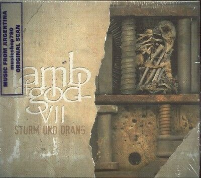 Lamb Of God Vii:strum Und Drang + 2 Bonus Tracks Sealed Cd New 2015