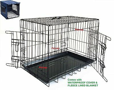 Pet Carrier Dog Training Cages Puppy Cage Small, Medium X Large Metal Car Crates