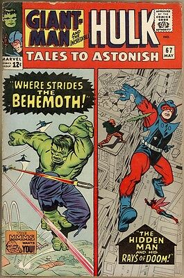 Tales To Astonish #67 - VG/FN