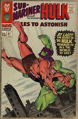 Tales To Astonish #87 - VG