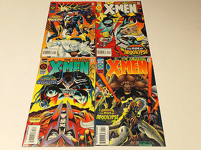 AMAZING X-MEN #1-4 (of 4)  Marvel Comics 1995 VF/NM Age of Apocalypse