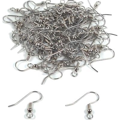 100 Surgical Steel Shepherd Hook Earrings