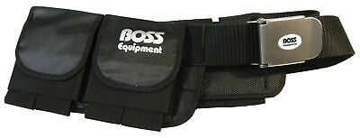 Boss Equipment Weight Belt Padded Soft - Multiple Sizes - Beach Utility