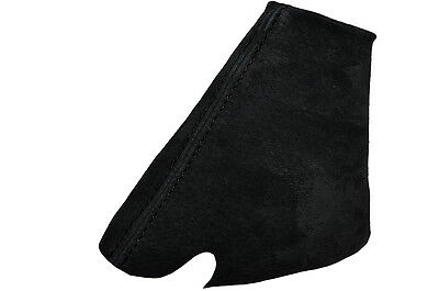 WHITE STITCH SUEDE SET OF 3 GAITERS FITS LAND ROVER DISCOVERY MK1 MK2 95-04