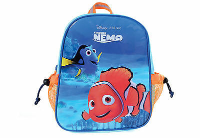 Brand New Official Disney Finding Nemo Backpack With Pockets