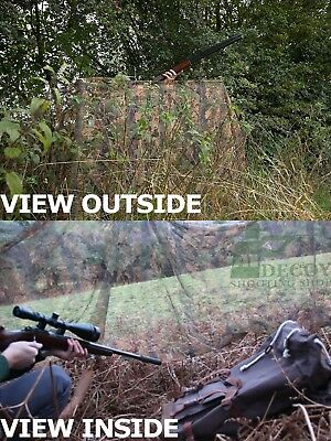 JACK PYKE Camo Hide Net Netting Clear View Pigeon Decoy Shooting 4m x 1.5m