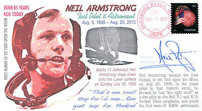 """""""COVERSCAPE computer designed 85th anniversary birth of Neil Armstrong cover"""