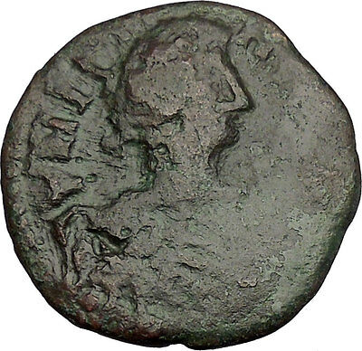 Celtic Tribe Barbarous BYZANTINE Ancient Coin as JUSTINIAN I RARE 527AD  i51599