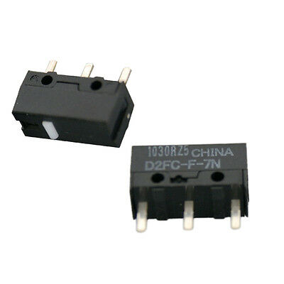 2/6/20/40x Brand New OMRON Micro Switch Microswitch D2FC-F-7N For Mouse