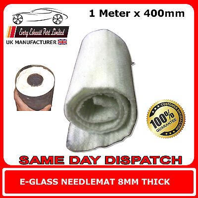 Exhaust Silencer Wadding 1 Meter x 400mm E-Glass Fibre Packing for Motorcycle