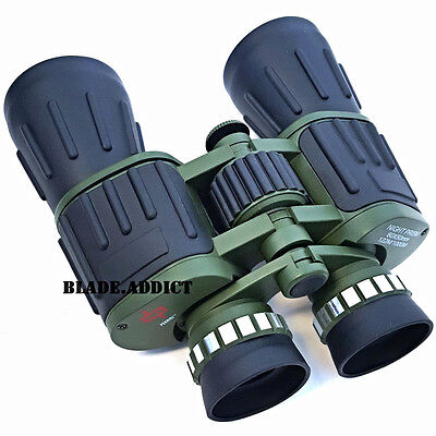 Day/Night 60x50 Military Army Zoom Powerful Binoculars Optics Hunting Camping
