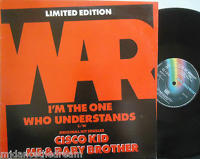 "WAR ~ Im The One Who Understands ~ LTD ED 12"" Single PS"