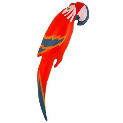 47cm Inflatable Blow Up Parrot Fancy Dress Party Toys Pirate Hawaiian Accessory