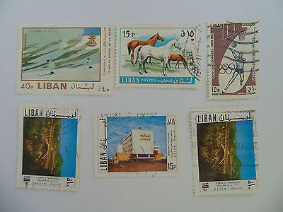 L265 - Collection Of Lebanon Stamps