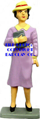 Lady w/ Purse & Hat - Brand New Style By Barclay!