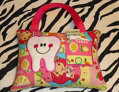 STRAWBERRY SHORTCAKE girls Tooth Fairy pillow Free Shipping