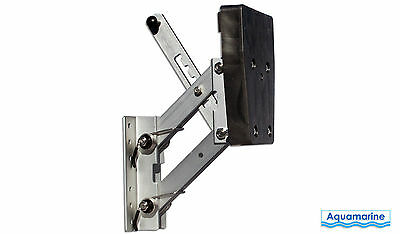OUTBOARD AUXILIARY MOTOR BRACKET Aluminum for 2 STROKE ENGINES 20 HP