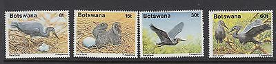BOTSWANA : 1989 Slaty Egret set SG 673-6 never-hinged mint