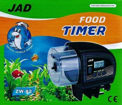 ZW-82 Fish Food Feeder Automatic  for Aquariums Fish Tanks Holiday Timer JAD Boy