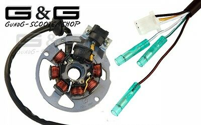 Ignition LIMA alternator Stator 6 Cable CPI Explorer Generic Keeway