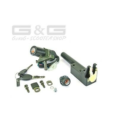 Lock Set Ignition Lock Aprilia Sr50 Sr 50 Netscaper Racing Stealth Www