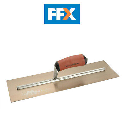 Marshalltown MPB165GSD Gold Stainless Steel Plasterers Trowel 16 x 5in