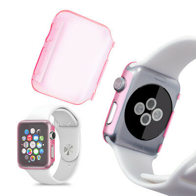kwmobile  CRYSTAL HARDCASE FOR APPLE WATCH 38MM (SERIES 1) DARK PINK SMARTWATCH