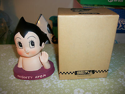 RUNE Astro Boy Ceramic Bank Bust Mighty Atom Japan Market Tezuka