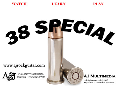 Custom Guitar Lessons - Learn 38 Special DVD Video