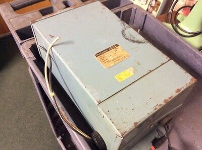 Powerformer 211-107 Dry Type Transformer 3 Kva 600V Used $139