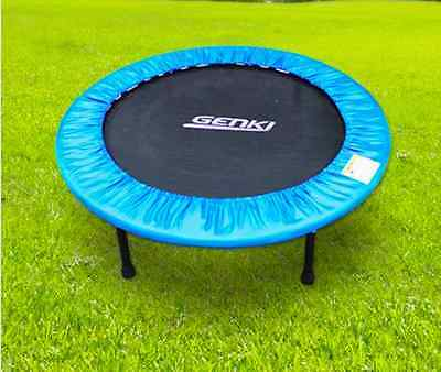 New Steel Foldable Mini Trampoline Workout Fitness Gym Exercise 12 mnth Warranty