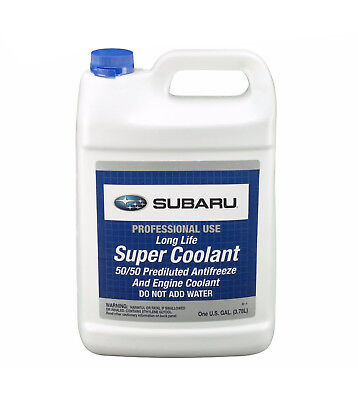 pentosin engine coolant antifreeze blue color ; 50 50 premixed forfor 1 gallon genuine anti freeze coolant blue for subaru forester legacy