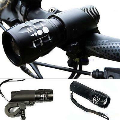 1200LM CREE Q5 Cycling Bicycle LED Front Head Light Torch Lamp + Bike Mount BF