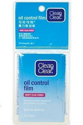Johnson Clean & and Clear Oil Control Film Blotting Paper Face Made iJapan