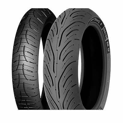 Michelin Pilot Road 4 Motorcycle Tyre Pair 120/70 ZR17 and 190/50 ZR 17