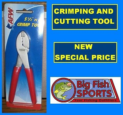 "CRIMPING AND CUTTING PLIERS 5-1/2"" Crimp Tool NEW! #TPC FREE USA SHIPPING"