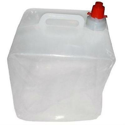 10 Litre Foldable and Collapsable Water Carrier Camping Fishing Travel