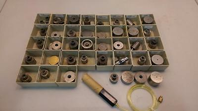 LOT 48pcs PGT PRECISION GAGE & TOOL CO AIR PLUG GAGE SPINDLE INSPECTION TOOLING