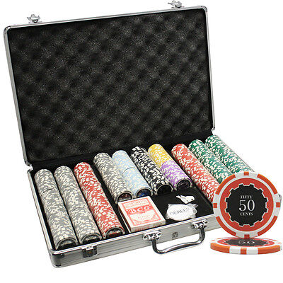 650pcs 14G ECLIPSE CASINO CLAY POKER CHIPS SET WITH ALUMINUM CASE