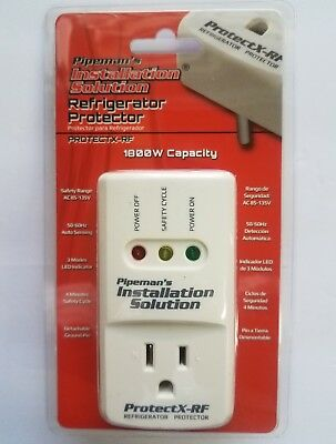 New Refrigerator Voltage Surge Brownout Spike Appliance Protector 1800 Watts