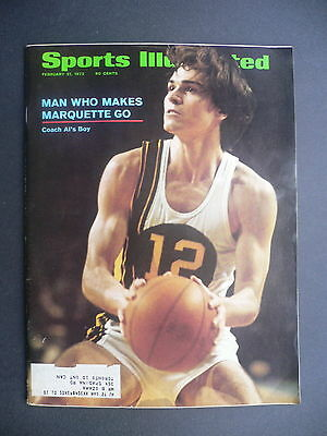 Sports Illustrated February 21, 1972 Marquette Allie McGuire Olympics Feb '72