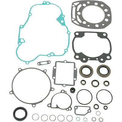 Moose Racing Complete Gasket Kit with Oil Seals For Kawsaki KX 500 86-87