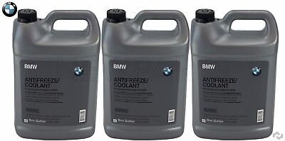 NEW 3 Gallons Pack Genuine BMW Blue Engine Coolant Antifreeze For BMW