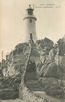 JERSEY corbiere lighthouse