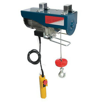 Electric Lifiting Winch 900W Hoist 500kg Scaffold Mounted for Workshop/Garage