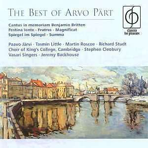 Various - The Best Of Arvo Part NEW CD