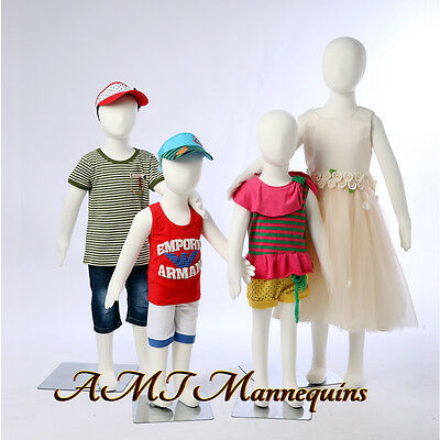 Child Mannequin removable head flexible pinnable manequins,4 kids manikins-R3468